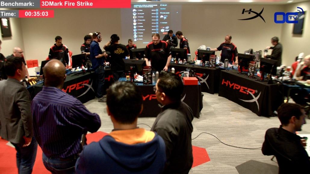 HyperX OC Takeover tournament in the studio