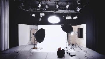 Video and photography studio set