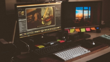 Video color grading process